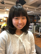 フワッと柔らか サイドレイヤー|hair stage O2 松向 ふみのヘアスタイル