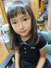 サラサラヘア|hair stage O2 松向 ふみのキッズヘアスタイル
