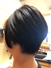 ショート|hair stage O2 松向 ふみのヘアスタイル