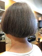 マッシュルームスタイル|hair stage O2 松向 ふみのヘアスタイル