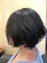 ゆるフワボブ|hair stage O2 松向 ふみのヘアスタイル