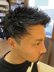 メンズパーマ|hair stage O2のヘアスタイル