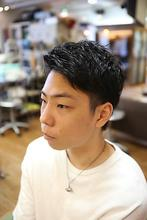 ばっさりメンズカット|hair stage O2のヘアスタイル