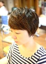 レディースショート|hair stage O2のヘアスタイル