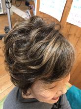 ボリューム感のあるショート|hair stage O2のヘアスタイル