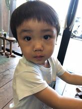 子供に似合うスタイル|hair stage O2 松向 ふみのキッズヘアスタイル