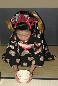 お子様の健やかなご成長 七五三 十三詣で 卒業式  お茶会