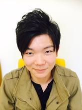 アシンメトリー♪|富士市の美容室・美容院【Hygge〜ヒュッゲ〜】  静岡県富士市に美容室富士市美容院・カットカラーヘッドスパのメンズヘアスタイル