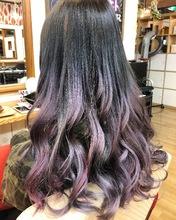 グラデーションアッシュ&ピンク|Hygge〜ヒュッゲ〜  富士市美容室・富士市美容院のヘアスタイル