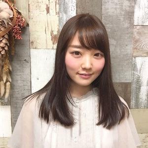 抜け感のあるシースルーロング|Hygge〜ヒュッゲ〜  富士市美容室・富士市美容院のヘアスタイル