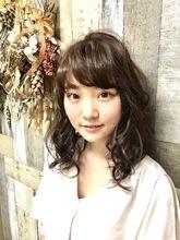 シースルー・カール|Hygge〜ヒュッゲ〜  富士市美容室・富士市美容院のヘアスタイル