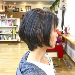 美シルエット・ボブ|Hygge〜ヒュッゲ〜  富士市美容室・富士市美容院のヘアスタイル