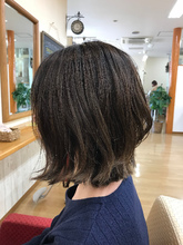 動きのある 切りっぱなしボブ|Hygge〜ヒュッゲ〜  富士市美容室・富士市美容院・着付け・ヘッドスパ・マツエクのヘアスタイル
