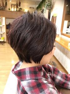 クール可愛い愛されショート|富士市の美容室・美容院【Hygge〜ヒュッゲ〜】ヘッドスパ  静岡県富士市に美容室富士市美容院・カットカラーヘッドスパのヘアスタイル