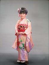 大人かわいい日本髪☆7歳 |Hygge〜ヒュッゲ〜  富士市美容室・富士市美容院・着付け・ヘッドスパ・マツエクのキッズヘアスタイル