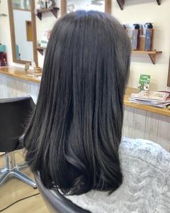 シースルーアッシュ|富士市の美容室・美容院【Hygge〜ヒュッゲ〜】ヘッドスパ  静岡県富士市に美容室富士市美容院・カットカラーヘッドスパのヘアスタイル