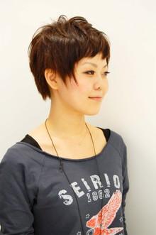マニッシュショート|SIECLE hair&spa 渋谷店のヘアスタイル