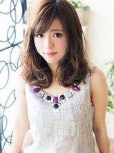 クール大人可愛い☆さらふわセミディ|JurerBelleのヘアスタイル