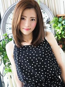 可愛くナチュラル☆似合わせ秋カラー|JurerBelleのヘアスタイル