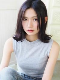 黒髪ナチュラル可愛いハネボブ☆