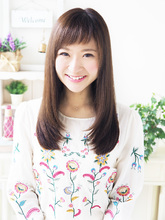 縮毛矯正で艶さらストレート☆|JurerBelle 杉下 祥子のヘアスタイル