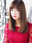 しなやか女子☆艶ストレートセミディ☆