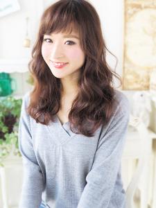 愛され大人女子ふわふわ魅力セミディ☆|JurerBelleのヘアスタイル