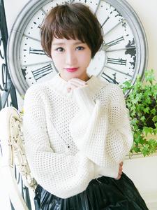ふわ可愛い大人ショートボブ☆|JurerBelleのヘアスタイル