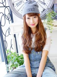 ニット帽が似合う☆ふわ可愛いロング