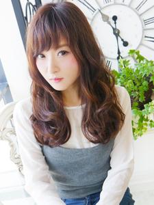 大人ナチュラル可愛いロング☆|JurerBelleのヘアスタイル