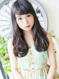 エアリーウェーブ☆ Sweet 黒髪ロング