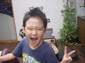 キッズカット|Kamikouchi メンズサロン 髪高地 灘/岩屋/春日野道/HAT神戸/西灘/ポートアイランド/摩耶駅のヘアスタイル