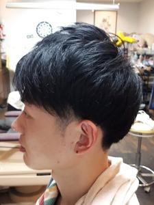 ツーブロックスタイル|Kamikouchi メンズサロン 髪高地 灘/岩屋/春日野道/HAT神戸/西灘/ポートアイランド/摩耶駅のヘアスタイル