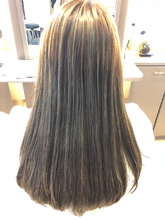 外国人風3Dカラー|髪結ぃやのヘアスタイル
