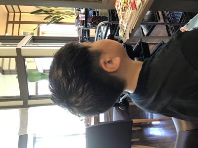 キッズスタイル男の子|髪結ぃやのヘアスタイル