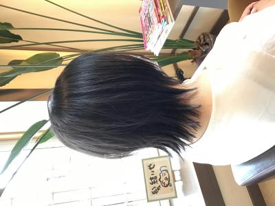 レイヤースタイル 髪結ぃやのヘアスタイル