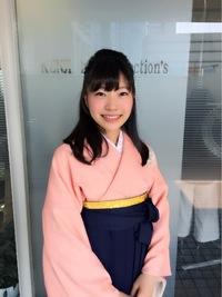 清楚系スッキリサイドまとめ髪スタイル!!