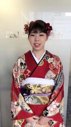 2018成人式 上品なエレガントな雰囲気のアップスタイル!|KENJI hair collection's 西宮店のヘアスタイル