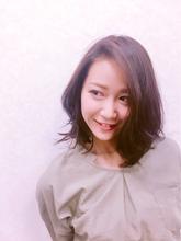 ゆるふわボブで可愛らしさを!|KENJI hair collection's 西宮店のヘアスタイル
