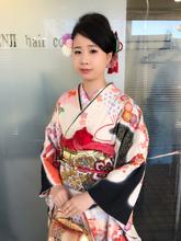 成人式  ショートのまとめ髪スタイル!!!|KENJI hair collection's 西宮店のヘアスタイル
