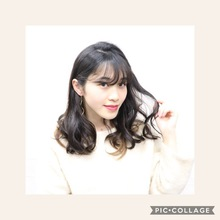 ミディアムカールスタイル!|KENJI hair collection's 西宮店のヘアスタイル