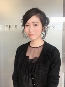 ゆるふわルーズアップスタイル!|KENJI hair collection's 西宮店のヘアスタイル