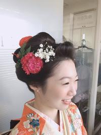 日本髪風アップスタイル!!!