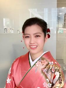 成人式まとめ髪アップスタイル!!!|KENJI hair collection's 西宮店のヘアスタイル
