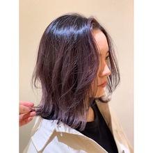 ディープパープル|Vive koroyasuのヘアスタイル