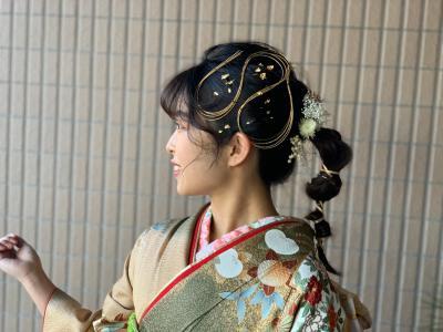 水引アレンジ|Vive koroyasuのヘアスタイル