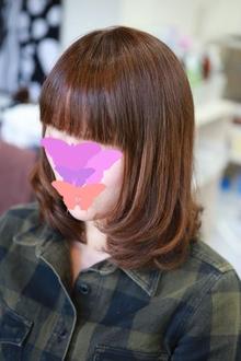 クラシカルキュート♪ブリックブラウンカラー|Le cielbのヘアスタイル