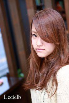 素髪美人のナチュラルロングスタイル♪|Le cielbのヘアスタイル