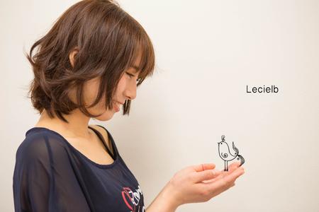 イノセントボブ 〜軽やかに動きを付けて〜|Le cielbのヘアスタイル