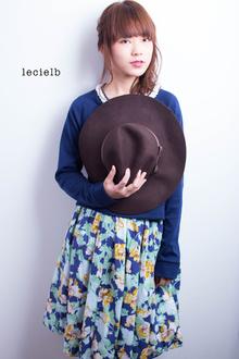 簡単アレンジ&ダウンの2WAYスタイル♪|Le cielbのヘアスタイル